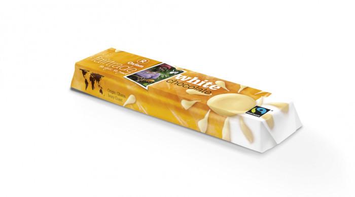Witte chocolade 50 gr - Lovendegem Online