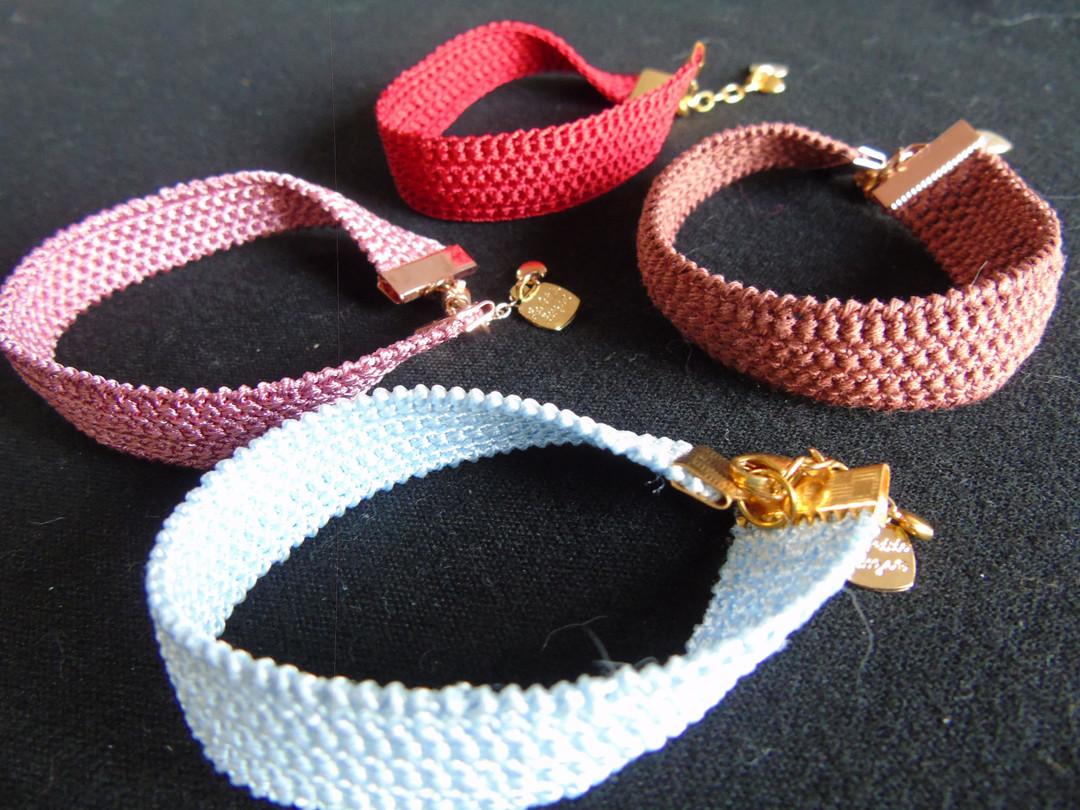 Gehaakte armband - Lovendegem Online