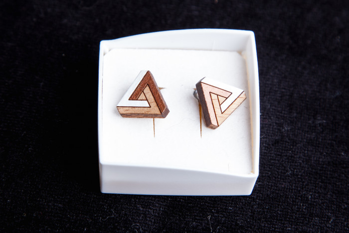 Beuk driehoek handgeschilderd - Lovendegem Online
