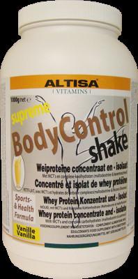 bodycontrol shake vanille 1000gr - Lovendegem Online
