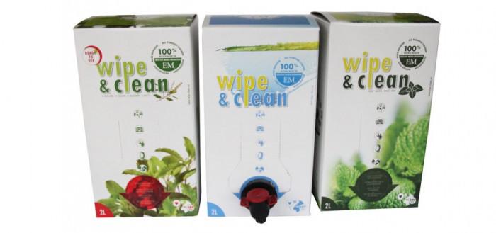 Wipe & clean natuur - Lovendegem Online